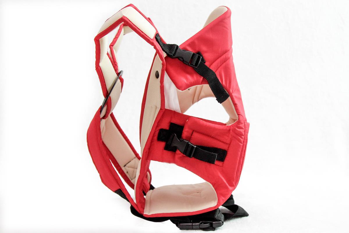 Canguru 2x1 Carregador de bebê Vermelho  9,1 Kg promoção
