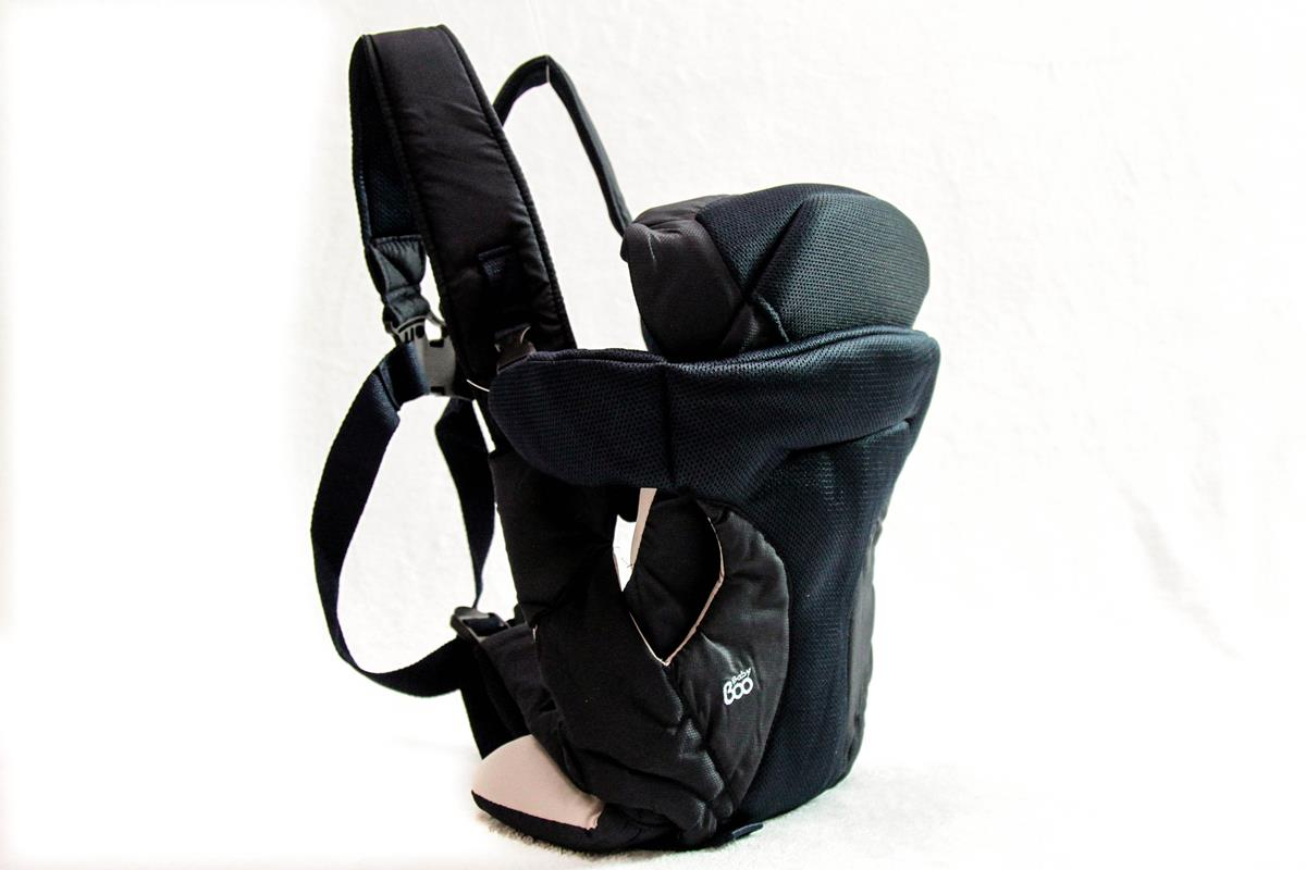 Canguru e Cestinha Soft Baby Carrier 4 posições Azul  14 Kg   RN a 18 meses