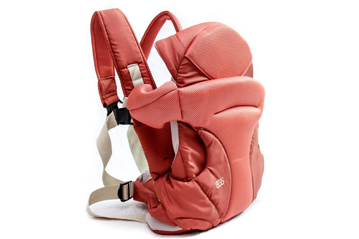 Canguru e Cestinha Soft Baby Carrier 4x1 Orange Red 14 Kg  RN a 18 meses