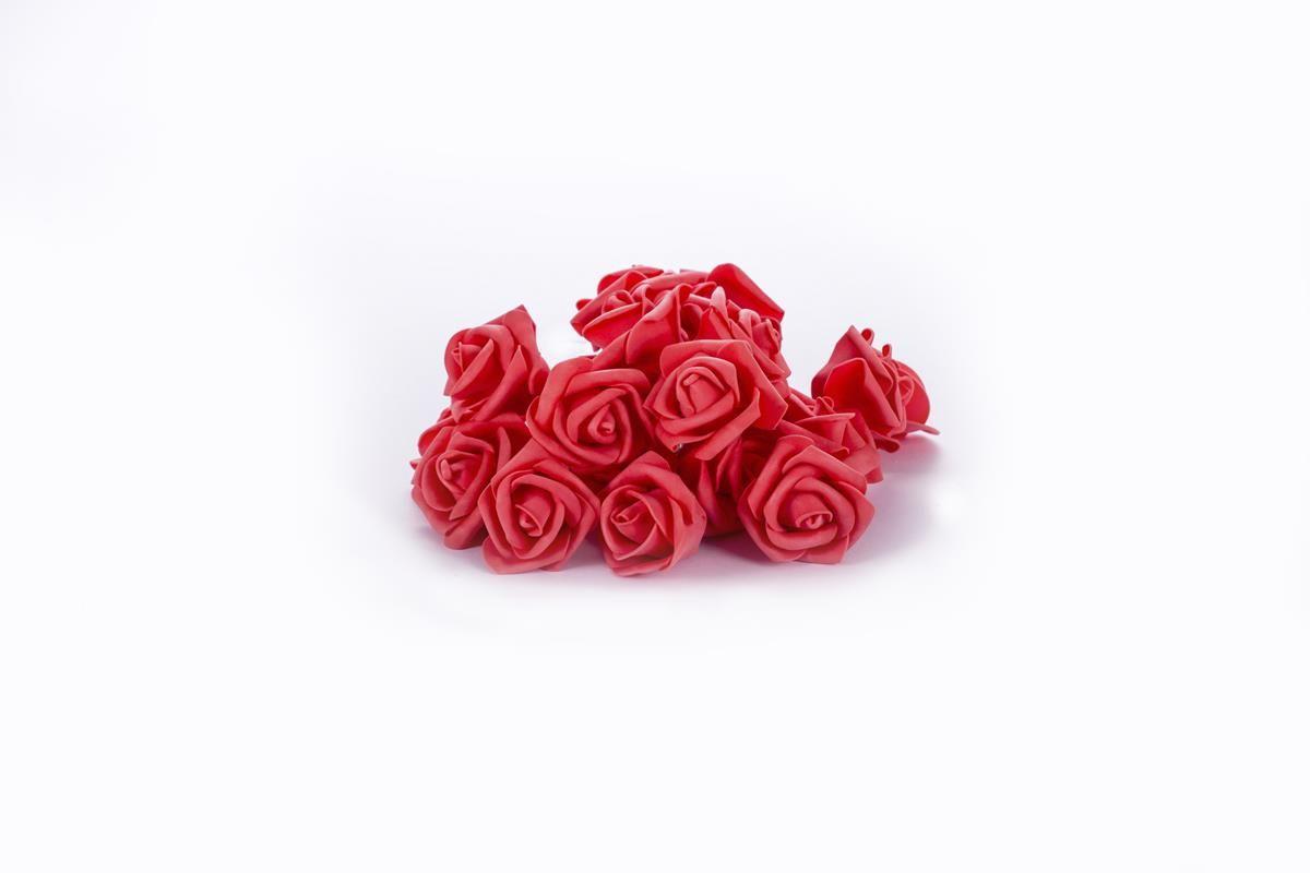 Cordão de luz de Rosas Vermelhas EVA luminária fio de luz 20 leds