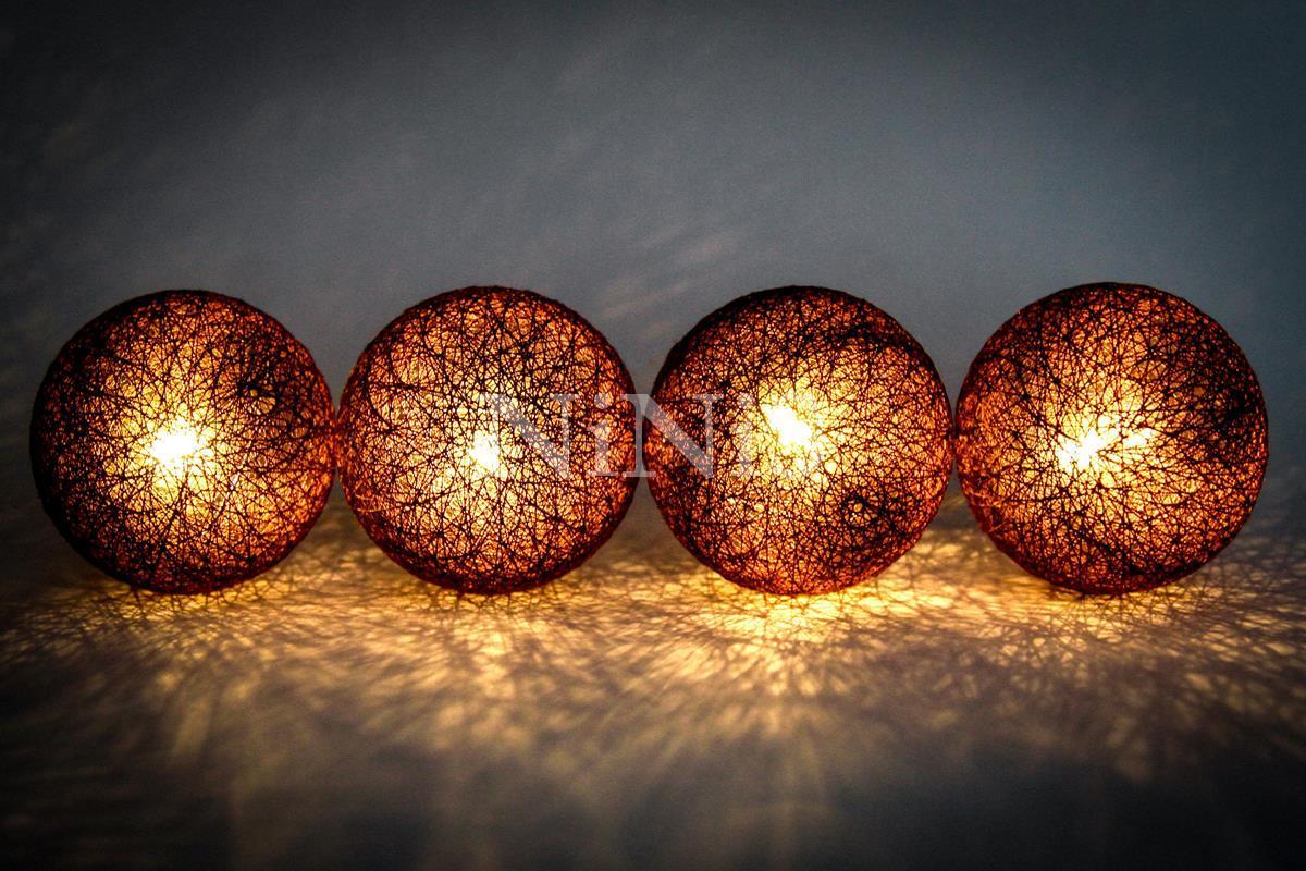 Cordão de luz Pinot Noir - luminária fio de luz 20 leds