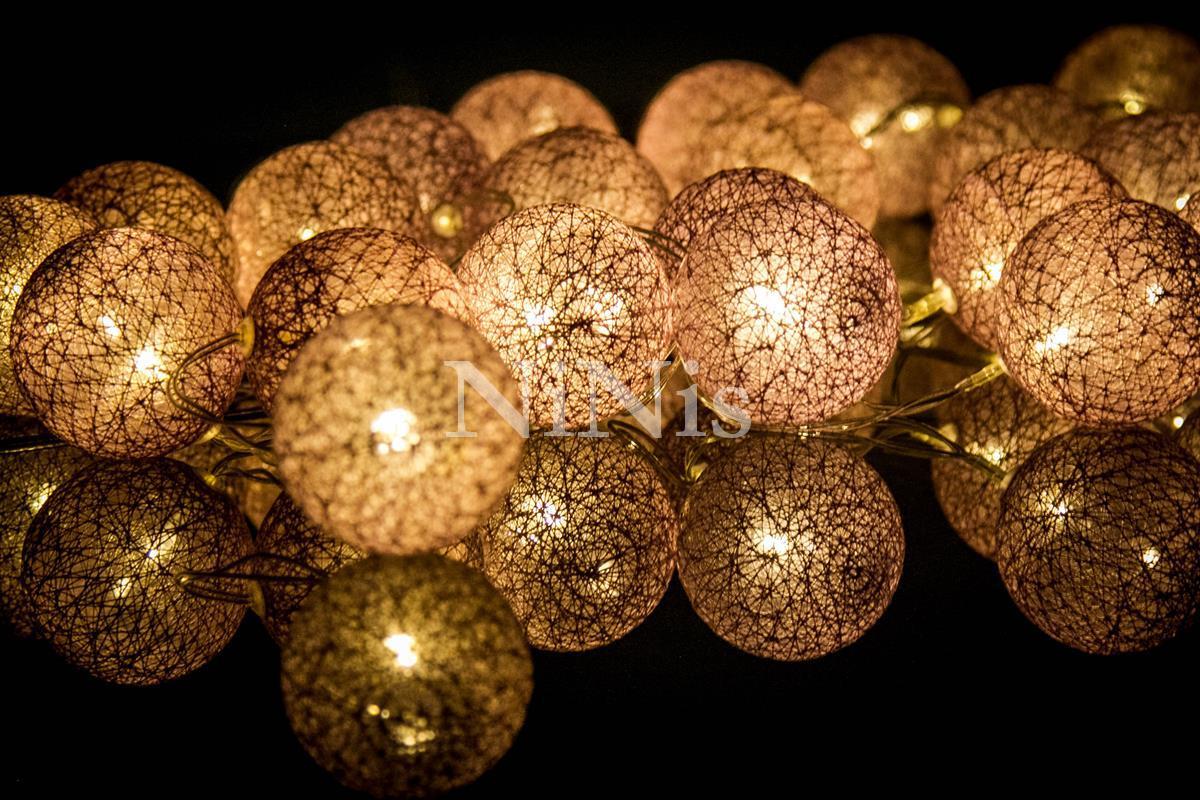 Cordão de luz Purple - luminária fio de luz 20 leds