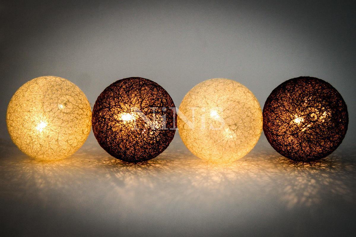Cordão de luz Terra - luminária Led fio de luz 20 leds