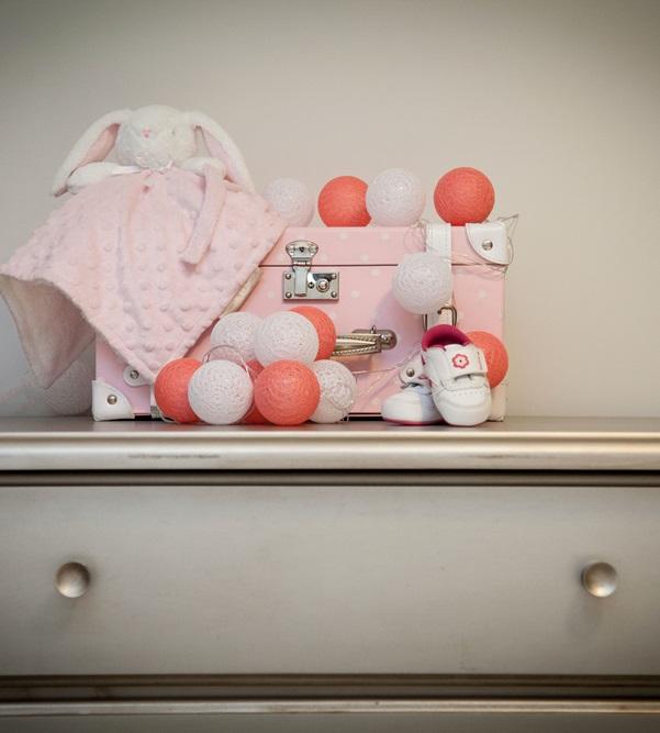 Fio de luz - Baby  Girl - luz de fada cordao de luz 20 leds