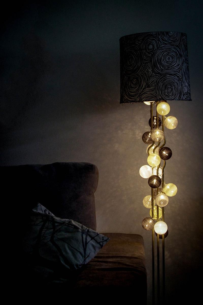 Fio de luz |Clássico | Luz de fada , cordao de 20 leds