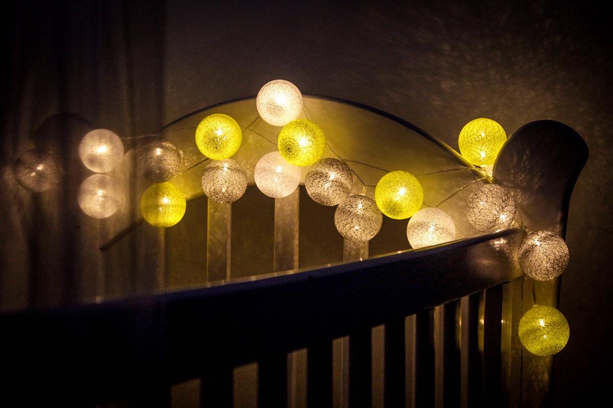Fio de luz - Sweet Dreams - luz de fada , bolas de luz 20 leds