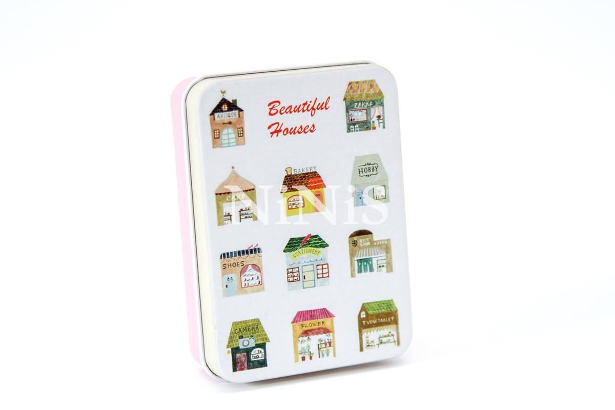 kit 10 latinhas para lembrancinhas  pink house