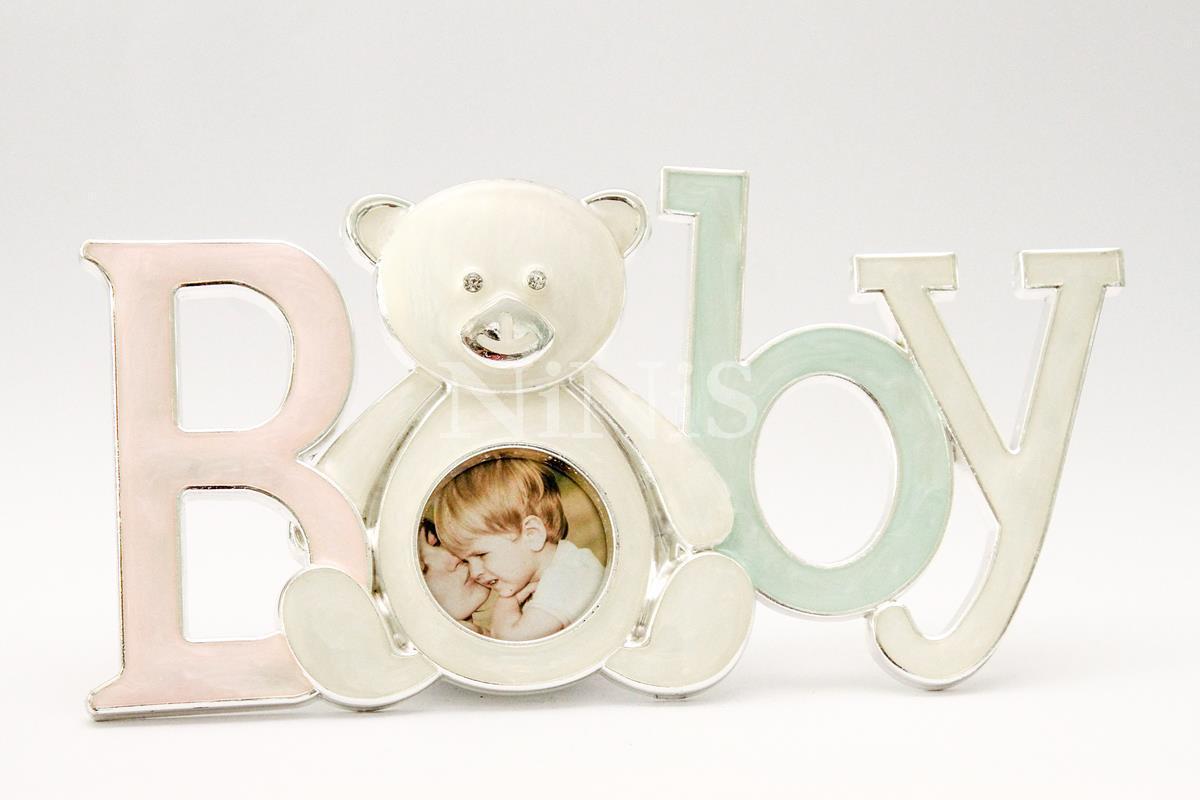 Porta retrato BABY madrepérola 5x5 cm