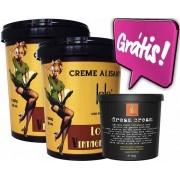 Lola Cosmetics - Vintage Girls - Kit Duo - Creme Alisante 850g *GRÁTIS* Hidratação 300g