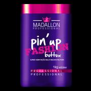Madallon - Pin`Up Fashion Botox - MATIZADOR e RECONSTRUTOR - Cabelos Loiros - 1kg