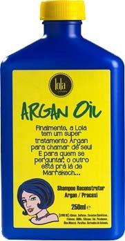Lola Cosmetics - Argan Oil e Pracaxi - Shampoo Reconstrutor - 250ml