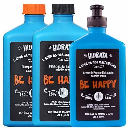 Lola Cosmetics - Kit Be Happy - Cabelos Secos e Danificados