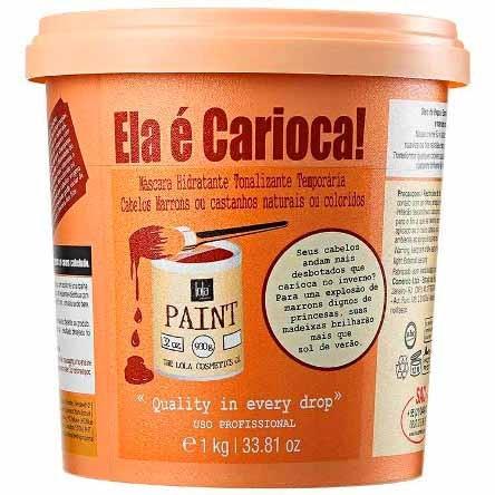 Lola Cosmetics - Ela é Carioca - Máscara Tonalizante - Castanhos e Marrons - 1Kg