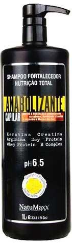 NatuMaxx - Anabolizante Capilar - Shampoo Fortalecedor - 1L