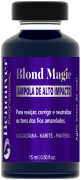 Ampola Blond Magic Benouver Profissional 15ml