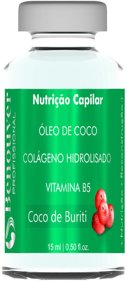 Ampola Nutrição Capilar Benouver Profissional 15ml