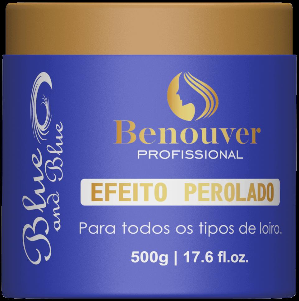 Blue and Blue Máscara Matizadora Argila Benouver Profissional 500g
