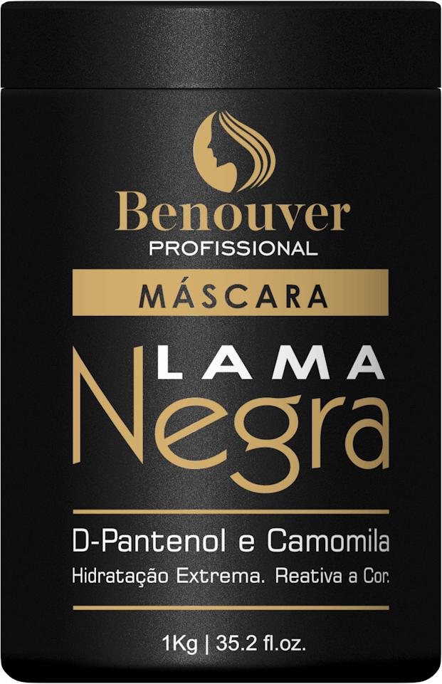 Máscara Lama Negra Benouver Profissional 1KG