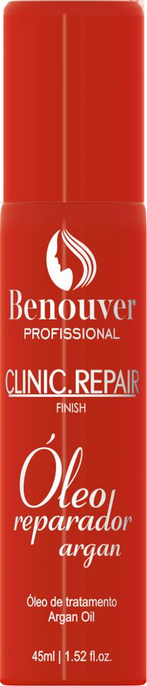 Óleo Reparador de Argan Clinic Repair Benouver Profissional 45ml