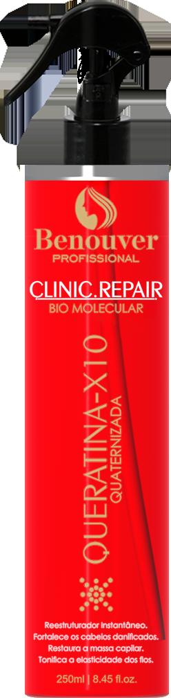 Queratina Quartenizada X10 Clinic Repair Benouver Profissional  250ml