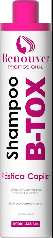 Shampoo antirresíduos Botox Plástica Capilar Benouver Profissional 1000m