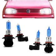 Kit Lampadas Golf Mexicano Gti Glx 95 96 97 98 Super Branca