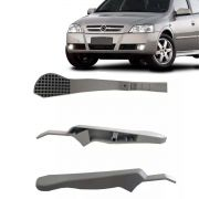 Canopla Braço Ajuste Regulagem Altura Banco Motorista Astra 2003 2004 2005 2006 2007 2008 2009 2010 2011 2012 Cor Cinza