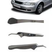 Canopla Braço Ajuste Regulagem Altura Do Banco Motorista Vectra 97 98 99 2000 2001 2002 2003 2004 2005 - Cor Cinza