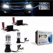 Kit Xenon Bi Xenon Hid 6000k 8000k H4-3 Tech One Completo