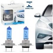Par Lampadas H7 8500K Super Brancas Nova Tech One Inmetro