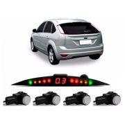 Sensor De Ré Estacionamento Focus Hatch Sedan 2009 2010 2011 2012 2013 - Embutido Oem Padrão Liso Original - Techone