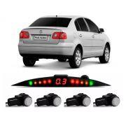 Sensor De Ré Estacionamento Polo Hatch Sedan 2002 2003 2004 2005 2006 - Embutido Oem Padrão Liso Original - Techone