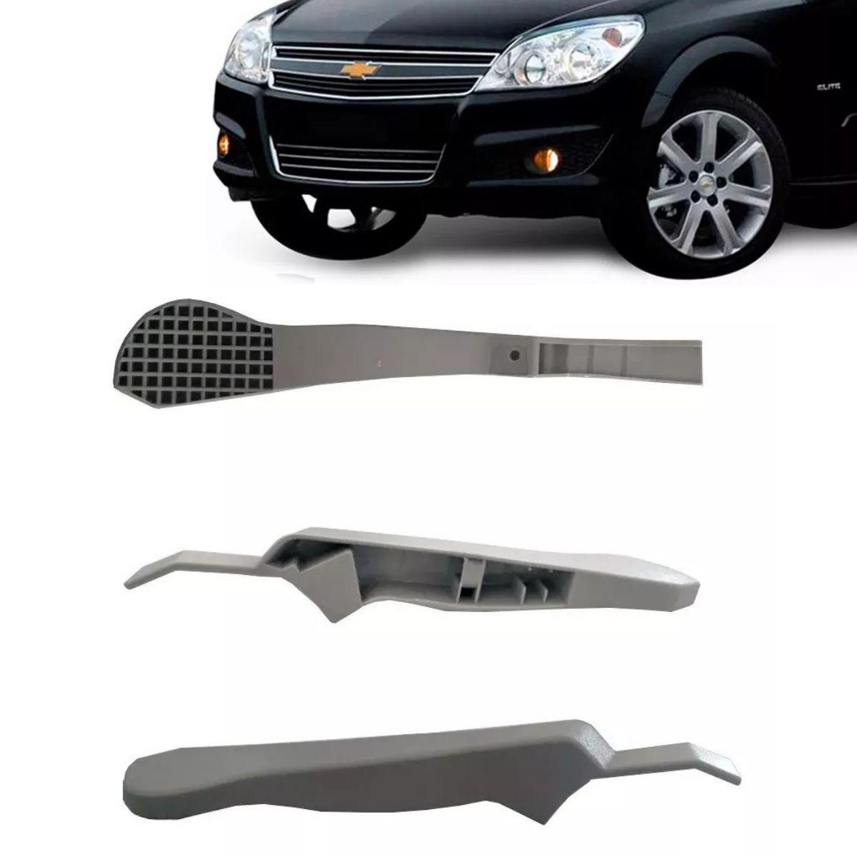Canopla Braço Ajuste Regulagem Altura Do Banco Motorista Vectra 2009 2010 2011 - Cor Cinza