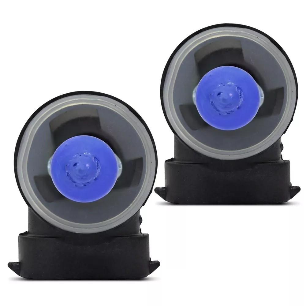 Kit Lampadas Farol Milha Onix Prisma Cobalt Spin Sonic Super Brancas H27 881 27w - Techone 8500k 12v Inmetro