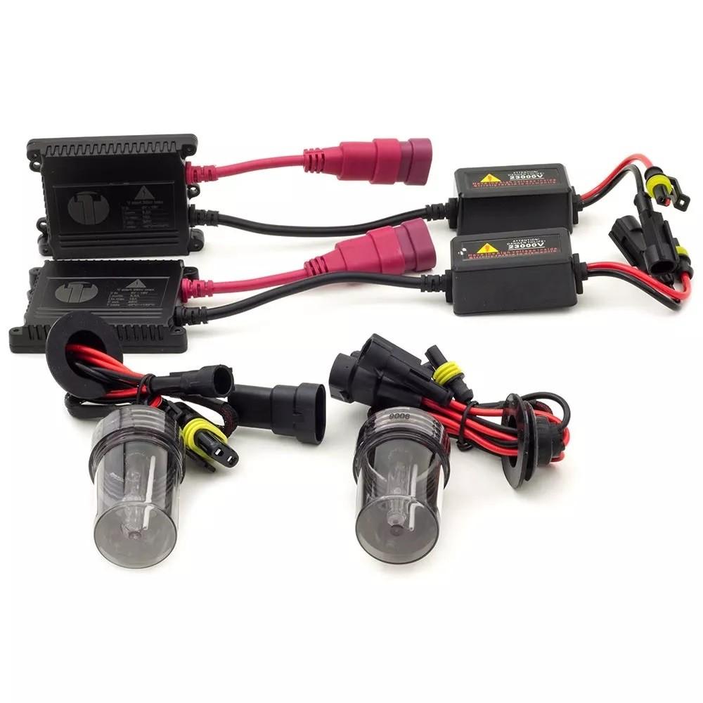 Kit Xenon Celta 06 a 15 Prisma Antigo Farol Milha HB4 8000k
