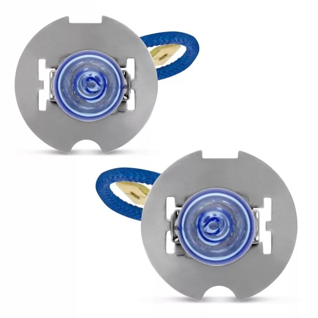 Kit Lampadas Vectra GL GLS CD 97 98 99 Super Brancas Farol H7 H1 Milha H3 - Techone 8500k 12v 55w Inmetro