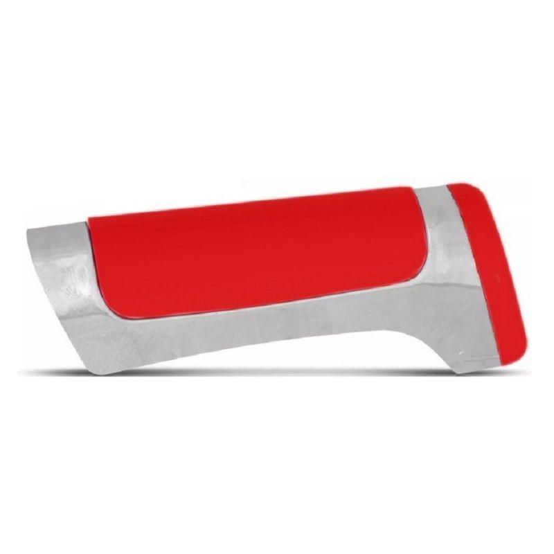 Manopla Capa Do Freio De Mão Tuning Vermelho Cromado