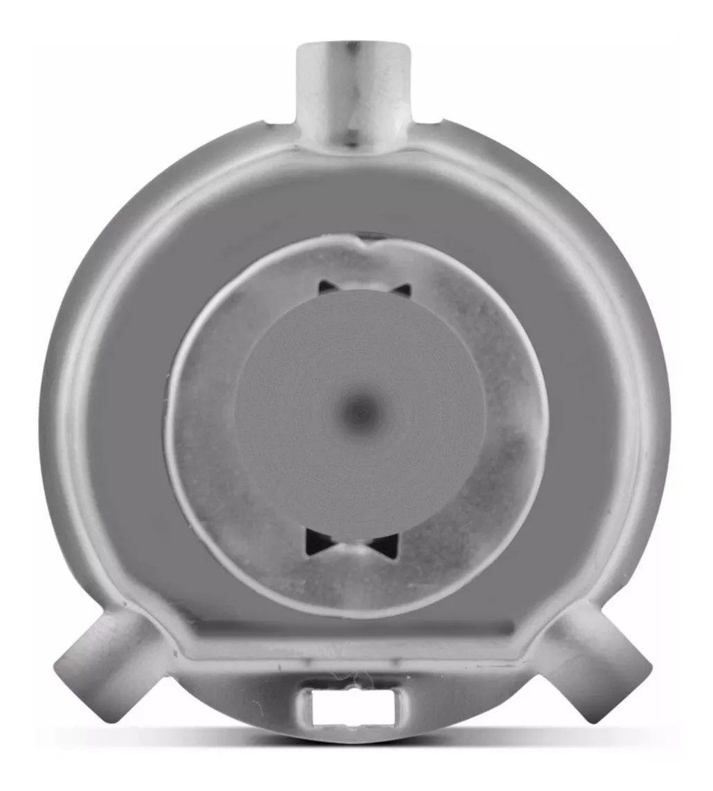Par Lâmpada Halogena Transparente Comum H4 12v 55/60w 3000k