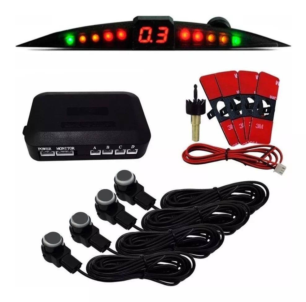 Sensor De Ré Estacionamento Astra 2003 2004 2005 2006 2007 2008 2009 2010 2011 2012 - Embutido Oem Padrão Liso - Techone