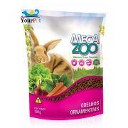 Alimento Super Premium Completo para Coelhos Ornamentais - Mega Zoo (500g)
