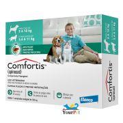 Antipulgas Comfortis 560 mg para Cães de 9 a 18 Kg e Gatos de 5,5 a 11 Kg - Elanco