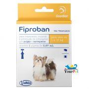 Antipulgas e Carrapatos Fiproban Cães de até 10 kg - Vallee (1 pipeta de 0,67ml)