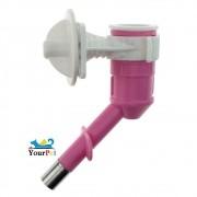 Bebedouro Automático de bilha acoplável em Garrafas e Torneiras - Savana Pet (Rosa)
