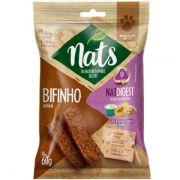 Bifinho Natural Super Premium NatDigest Auxilia na digestão dos Cães - Nats (60g)