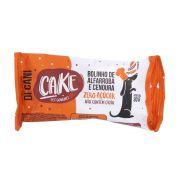 Bolinho de Alfarroba e Cenoura Zero Açúcar - Cake Pet Gourmet para Cães - Panetteria Di Cani (30g)