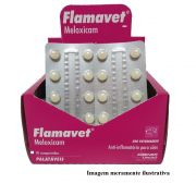 Flamavet 0,2 mg - Anti-inflamatório palatável para Gatos à base de Meloxicam - Agener (10 comprimidos)