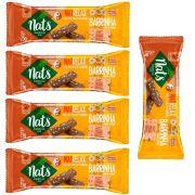 Kit com 5 Barrinhas de Carne e Cereais NatRelax para Cães Nats (25g)