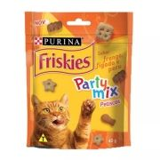 Petiscos Friskies Party Mix Sabor Frango, Fígado e Peru  Nestlé Purina (40 g)