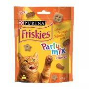 Petiscos Friskies Party Mix Sabor Frango, Fígado e Peru  Nestlé Purina (40 g)
