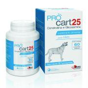 ProCart 25 Suplemento Alimentar para Cães à base de Condroitina e Glicosamina - Agener União (60 comprimidos palatáveis)